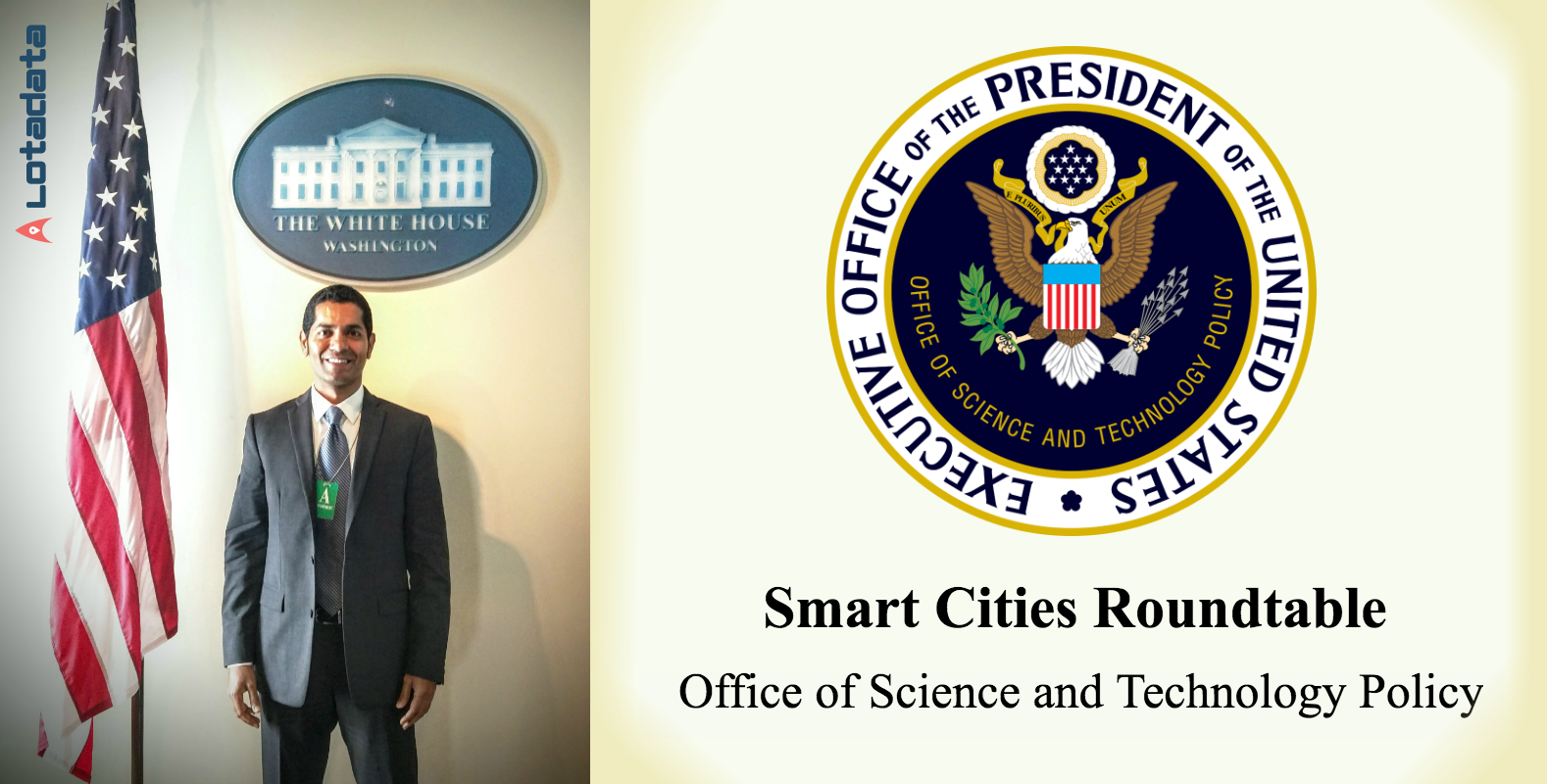 Making Cities Smarter at the White House