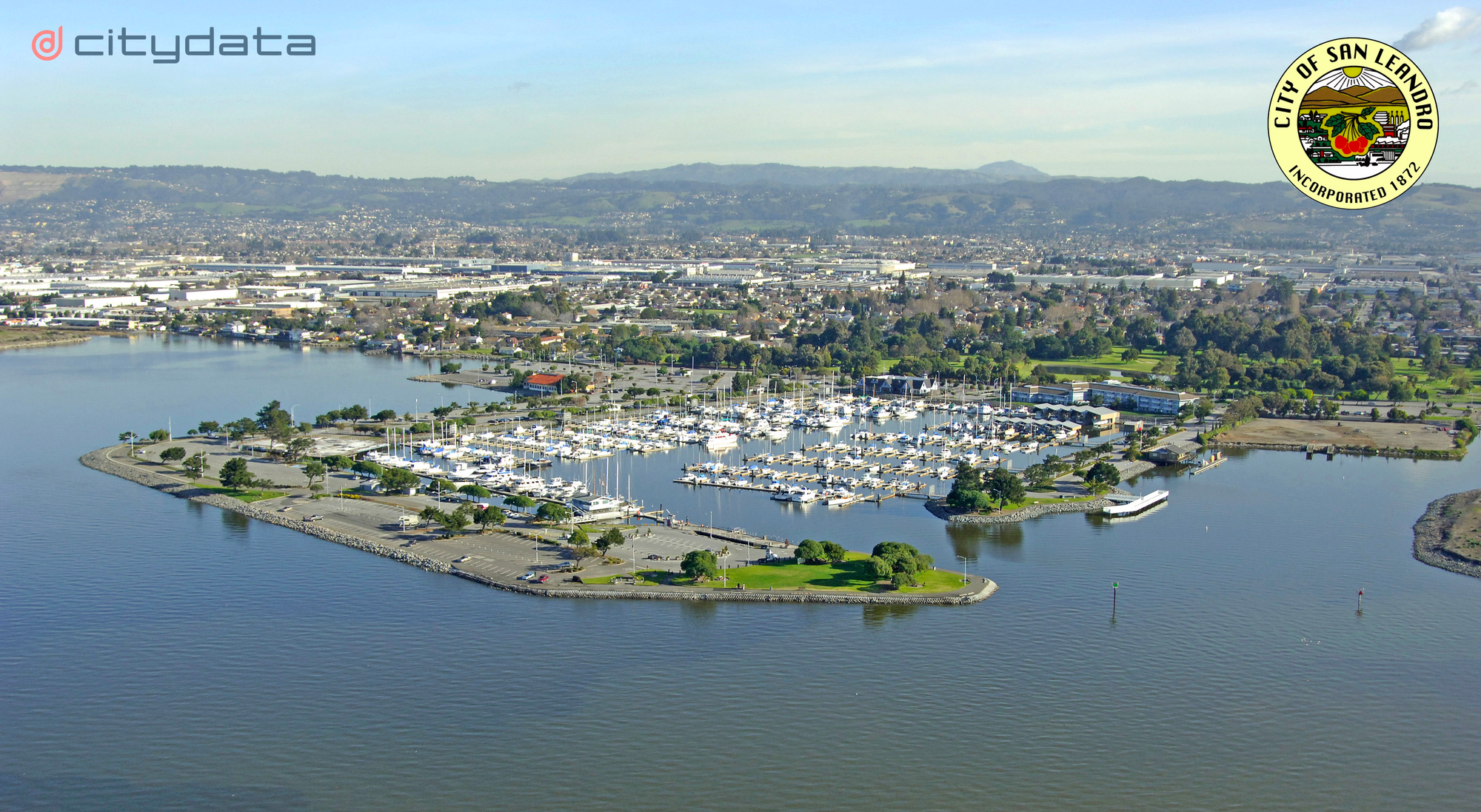 Unified data analytics dashboard for the City of San Leandro, California