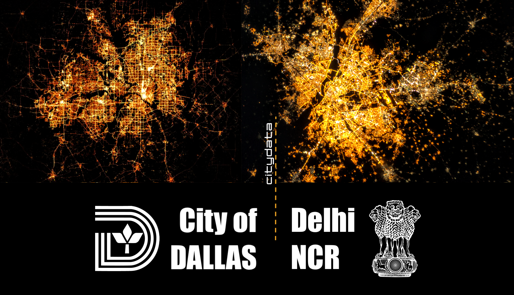 Mobility trip patterns for Delhi and Dallas